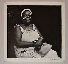 Original TITO ALVAREZ Fine Art Photography.Signed.Black Woman.Cuban Contemporary