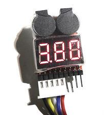 LiPo Low Voltage Alarm & Voltage Checker Tester - Adjustable Voltage fit Turnigy