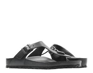 Birkenstock Gizeh EVA Essentials Black Unisex Thong Sandals 0128201
