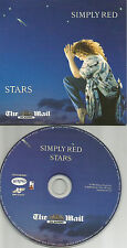 SIMPLY RED stars CARD SLEEVE Europe NEWSPAPER LIMITED PROMO CD USA seller 2008