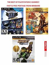 Sly Cooper, Jak & Daxter and Ratchet & Clank Trilogy Collection PS3 * AU STOCK*