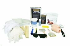 Fiberglass Repair Kit, 1 Gallon Resin & 8 yards Fiberglass, acetone & supplies