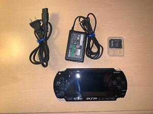 Sony PSP 1000 Black HACKED 128 GB PSP/PS1/GBA/N64/SNES/NEOGEO