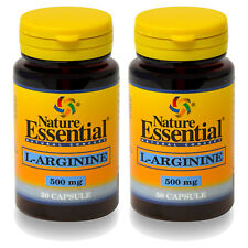Arginina 500mg 50 capsulas Nature Essential