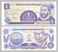 Nicaragua 1 Centavo 1991 p167 unz.