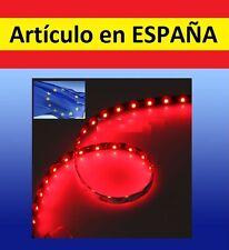 ROJA Luces LED COCHE acuario 60cm tira iluminacion pecera peces flexible12V rojo