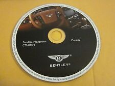 2004 2005 2006 BENTLEY CONTINENTAL NAVIGATION CD OEM CANADA