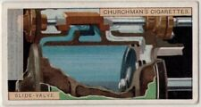 Slide Valve Used In Steam Engine 1920s Trade Ad Card