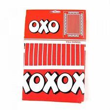 100% Cotton Retro OXO Logo -  Tea Towel - BNWT - Free Postage