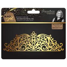 Sara Davies Black and Gold Signature Collection - Regency Decor Metal Craft Die