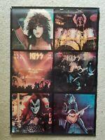 "Kiss rare 1975 Alive promo poster Original! vintage paper 32"" x 22"" SEE PHOTOS"