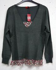 Damen-Pullover & -Strickware aus Viskose ohne Muster in Übergröße