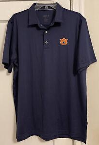 NWOT Johnnie-O Auburn Tigers Logo Performance S/S Polo Shirt Men's Sz L!