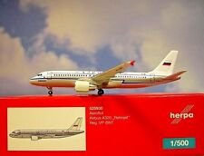 Herpa Wings 1:500 Airbus A320 Aeroflot Retro vp-bnt 525930 modellairport500