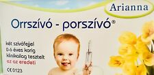 Arianna Baby Vac Nasal Vacuum Aspirator Suction Nose Cleaner Original