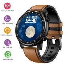 Men Smart Watch Bluetooth Notification Heart Rate Monitor for Android iOS iPhone