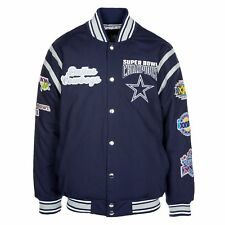 25ecf2d63 NFL Dallas Cowboys 5 Time Super Bowl Varsity Jacket Champions Size XL