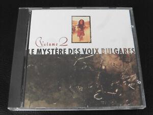 VARIOUS - LE MYSTERE DES VOIX BULGARES - VOLUME 2 - 4AD - 1988 CD