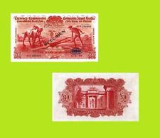 Ireland Currency 10 Pounds 1929. Ploughman Note  UNC - Reproductions