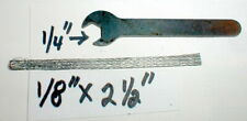 Axle Nut Wrench Kit & Pickup Brushes Revell Slot Car Racing #R3504 Original NOS