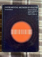 Instrumental Methods of Analysis (Chemistry) 7th Edition Willard Merritt Dean