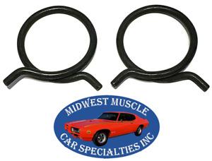 "GM GMC Chevy 1-7/8"" O.D. Corbin Spring Wire Heater Radiator Hose Clamps 2pcs KZ"