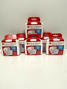 6-Pack Johnson & Johnson First Aid 12 Item Travel Portable Kit To Go Gym Purse