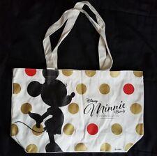 "NEW Sephora Collection Disney Minnie Tote Bag 12.75"" W X 5"" D X 10.5"" H"