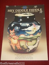 MOORCROFT POTTERY - HEY DIDDLE DIDDLE A5 LEAFLET