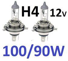 1pr H4 Globes Bulbs 100W High / 90W Low 100/90W 1yr warranty Melbourne seller