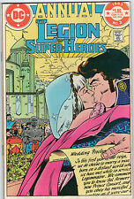 LEGION OF SUPER HEROES ANNUAL # 2 - WEDDING ISSUE ( GIBBONS ART - ND 1983 )