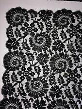 Exceptional Mantilla. Needle Embroidery On Tul. Cotton And Silk. Spain.Xix-Xx