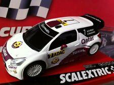 "SCALEXTRIC  EXCLUSIVO CITROEN DS3 WRC ""QATAR"" CIRCUITO 2014  ENVIO GRATIS!!!!!"