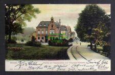 128596 AK Wesel 1903 Kaiserplatz und Augustastrasse