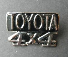 TOYOTA 4X4 PICKUP TRUCK SUV LAPEL PIN BADGE 1 INCH