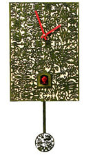 Black Forest Modern Art Cuckoo Clock Silhouette gr. NEW