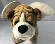 Russ Desginated Angels Bull Dog Plush Rare Angel Dressed Puppy Pup Doggy Gift