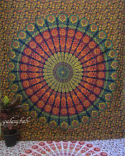 Indian Wall Tapestry Hanging Mandala Queen Hippie Bedspread Bohemian Throw Mat