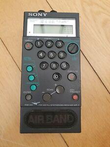 Sony PSB AIR-7 radio scanner receiver