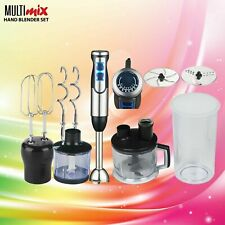 Multimix Quick 9 / 9 Pro Hand Blender Black 1000 Watts Stainless Steel not Braun
