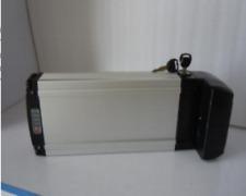 24V 10ah Li-ion Rechargeable Ebike Battery W/ Rear Rack Case & Charger