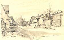 By Raymond T Cowern 1949 old vintage print Vivary Park TAUNTON Somerset