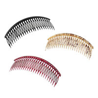 Accessori per cerchi per capelli con impugnatura a clip per pettine a pettine