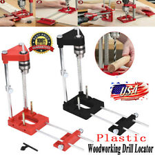 Woodworking Drill Locator-Drilling PrecisionTemplate Guide Tool Adjustable Kit