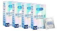 48 x Preservativos Invisible Súper Fino Extra Sensitivo Condones Relaciones Sexo