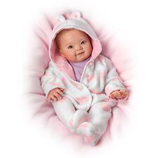 Ashton Drake Cutest Baby Of 2014 Portrait SAVANA baby girl doll by Ping Lau
