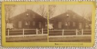 Civil War Photo Jennie Wade Stereoview House 1863 Gettysburg Photographed