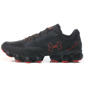 Under Armour Scorpio Men's Running Walking Sports Shoes Trainers Black Red UK