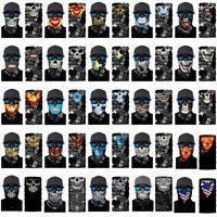 3D Skull Joker Clown Skiing Neck Scarf Face Mask Balaclava Headband Bandana