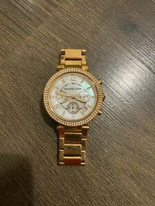 Michael Kors Ladies Watch - Rose Gold